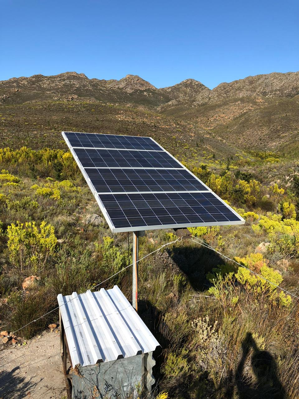 Solar Panels at Starry Starry Night, Route 62, Montagu, South Africa