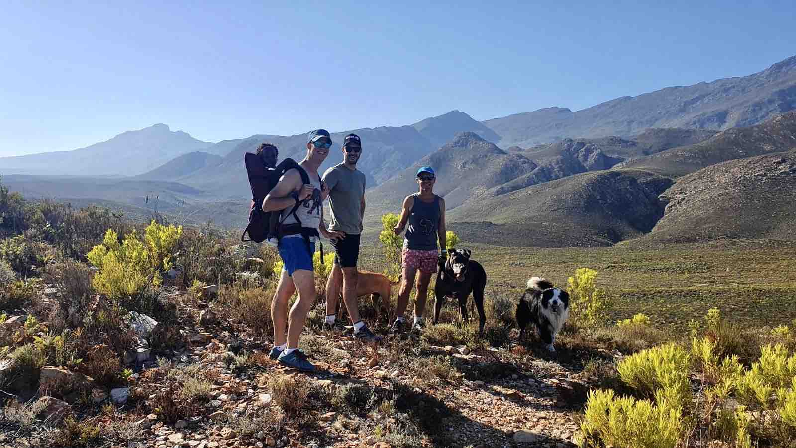 Hiking on Starry Starry Night on route 62 Montagu